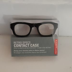Kirkland Contact case shaped glasses